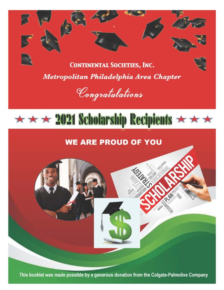 1 Scholarship cover page